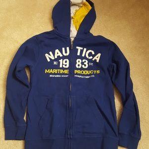 Nautica boys hoodie size 14/16